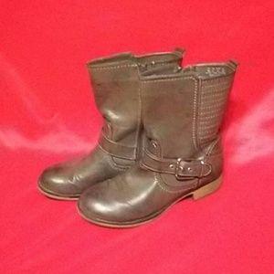 SOLD Fergalicious  Boots Grey 8M